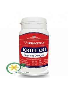 Krill Oil Supreme Omega 3 60 capsule Herbagetica