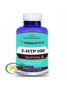 5 HTP 100 Zen Forte 120 capsule Herbagetica