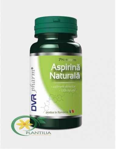 Aspirina Naturala 60 capsule DVR Pharm Produsul are acțiune rapidă și se folosește conjunctural, pentru anihilarea durerilor, mă