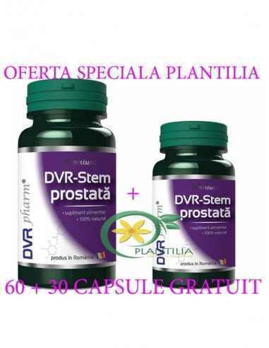 DVR-Stem Prostata 60 + 30 capsule GRATUIT DVR Pharm, DVR-Stem Prostata 60 + 30 capsule GRATUIT DVR Pharm Este un amestec de extr