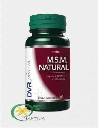 MSM Natural 90 capsule DVR Pharm, MSM Natural 90 capsule DVR Pharm Este un supliment dedicat afecțiunilor reumatice de toate tip