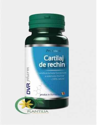 Cartilaj de rechin 60 capsule DVR Pharm Un excelent ajutor în afecțiunile articulare (reumatice, post-traumatice) și ale oaselor