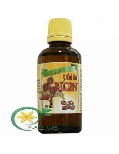 Ulei de ricin presat la rece 50 ml Herbavit Uleiul de Ricin - este un remediu valoros, natural care poate imbunatati conditia fi