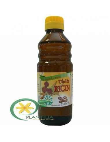 Ulei de ricin presat la rece 250 ml Herbavit Uleiul de Ricin - este un remediu valoros, natural care poate imbunatati conditia f