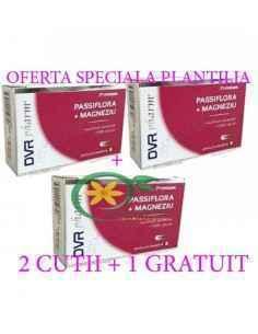 Passiflora + Magneziu 20 capsule DVR Pharm