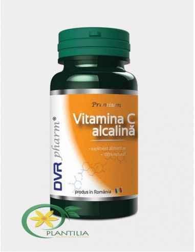 Vitamina C Alcalina 60 cps DVR Pharm, Vitamina C Alcalina 60 cps DVR Pharm Este o formă 100% naturală de vitamina C, obținută di