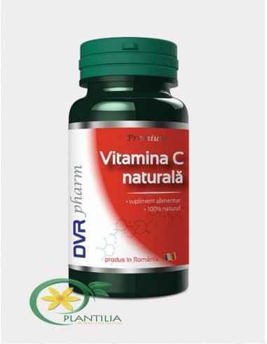 Vitamina C Naturala 60 cps DVR Pharm, Vitamina C Naturala 60 cps DVR Pharm Este un nutrient esențial vieții, obținut din Portoca
