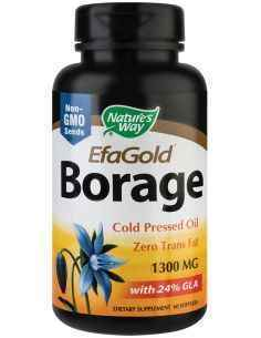 BORAGE 1300mg EFAGOLD 60 cps Nature's Way