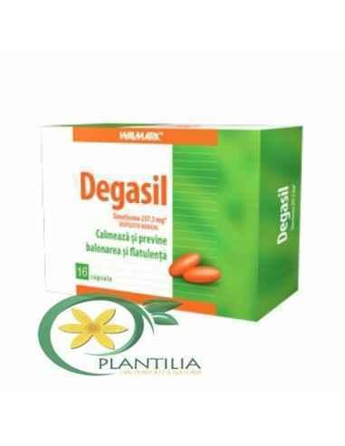 Degasil 16 cps Walmark, Degasil 16 cps Walmark Degasil este un dispozitiv medical, sub formă de capsule, care îmbunătățește conf