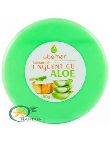 Unguent cu Aloe 50 g  Abemar Med, Unguent cu Aloe 50 g Abemar Med Produs cu efect protector, analgezic, antibacterial, antifung