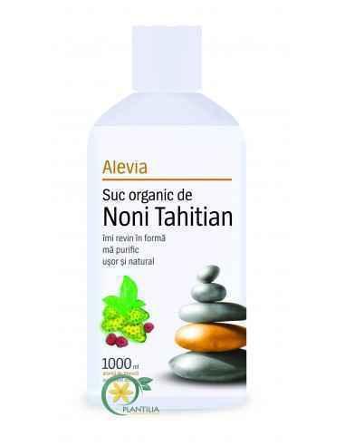 Suc Organic de Noni Tahitian 1000 ml Alevia
