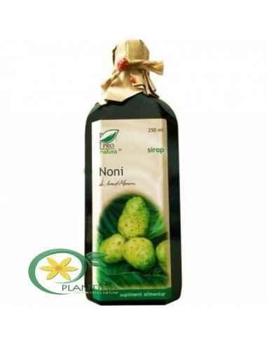 Sirop Noni 250 ml Pro Natura Medica Noni, datorita valorii nutritive si a multiplelor efecte benefice este considerat fructul re