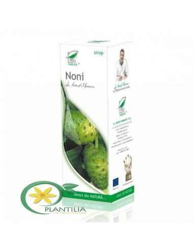 Sirop Noni cu Zahar Invertit 100 ml Pro Natura Medica, Sirop Noni cu Zahar Invertit 100 ml Pro Natura Medica Noni, datorita valo