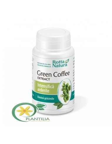 Green Coffee Extract(Cafea Verde) 60 cps Rotta Natura, Green Coffee Extract(Cafea Verde) 60 cps Rotta Natura Cafeaua are binecun