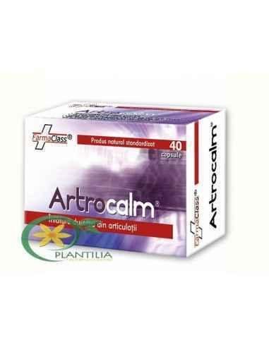 Artrocalm 40 cps FarmaClass, Artrocalm 40 cps FarmaClass Artrocalm este un complex biologic activ cu eficienţă maximă, ce acţion