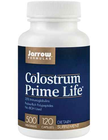 Colostrum Prime Life 500mg 120 capsule Jarrow Formulas