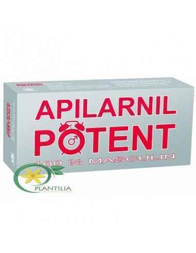 Apilarnil Potent 30 cpr BioFarm Apilarnil Potent este un supliment alimentat biostimulator cu efect în special asupra functiei s