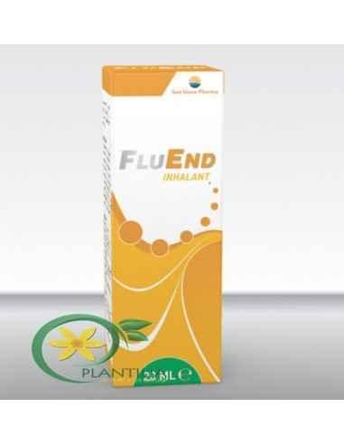 FluEnd Inhalant 20 ml Sun Wave Pharma Combinaţie de propolis, uleiuri esenţiale, eucalipt şi mentă sub formă de soluţie pentru i