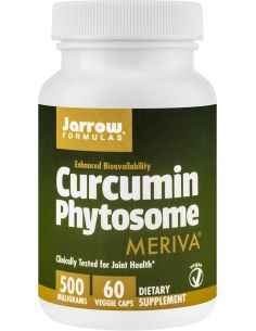 Curcumin Phytosome Secom, Curcumin Phytosome 500mg 60 capsule Jarrow FormulasAntioxidant cu biodisponibilitate ridicata.