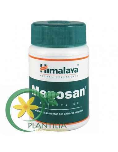 Menosan 60 tablete Himalaya Menosan este un supliment alimentar natural pentru combaterea simptomelor specifice menopauzei fizio