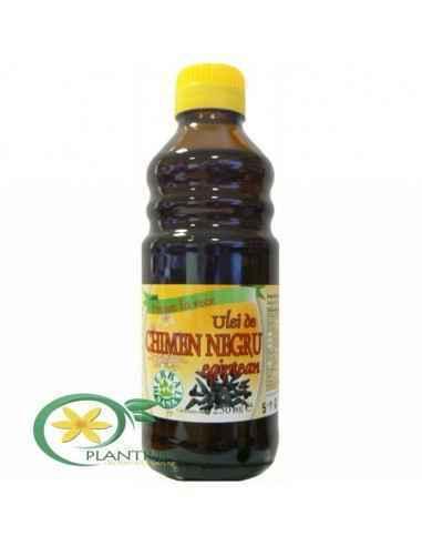 Ulei de Chimen Negru presat la rece 250 ml Herbavit Seminţele de chimen negru conţin: trigliceride, proteine, uleiuri volatile,