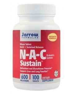 N-A-C Sustain 600mg 100 tablete Jarrow Formulas