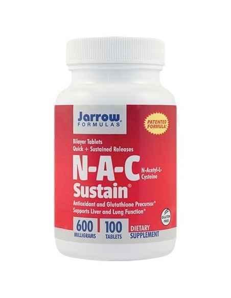 N-A-C Sustain 600mg 100 tablete Jarrow Formulas