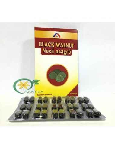 Nuca Neagra 30 tablete American Lifestyle Cel mai eficient remediu natural folosit de sute de ani pt eliminarea viermilor intes