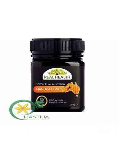 Miere Manuka MGO 500 250g Real Health, Miere Manuka MGO 500 NPA15+ 250g Real Health Mierea de Manuka MG 500 se recomanda mai ale