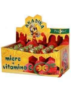 Akadika Propolis C pentru Copii cu Miere si Vitamina C 15 buc Fiterman