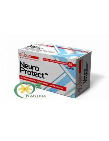 Neuro Protect 40 cps Farmaclass NeuroProtect conține substanțe naturale biologic active ce intervin favorabil în menținerea stăr