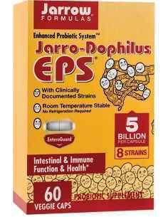 Jarro-Dophilus + EPS 60 capsule vegetale filmate gastrorezistente Jarrow Formulas