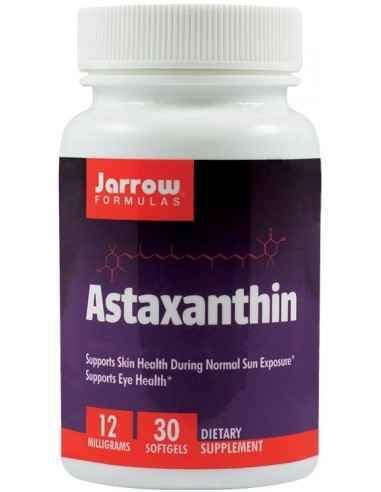 Astaxanthin  30 cps Secom, Astaxanthin 12mg 30 capsule moi Jarrow FormulasAntioxidant carotenoid care ajuta la mentinerea sanata