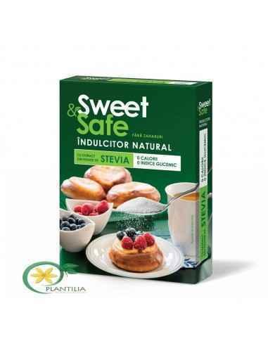 Indulcitor natural Sweet&Safe 350 g Sly Nutritia Sweet&Safe este alternativa sigură și naturală pentru îndulcirea prepar