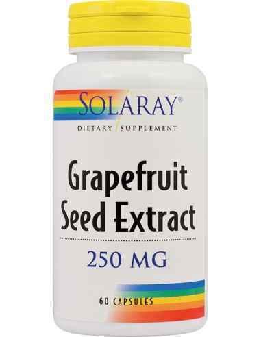 Grapefruit Seed Extract 60 cps Solaray, Grapefruit Seeds Extract 60 cps Solaray Ajuta la stimularea metabolismului si sistemului