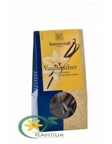 Condiment Vanilie Macinata Bio 10g Sonnentor, Condiment Vanilie Macinata Bio 10g Sonnentor Vanilie inseamna Senzualitate, nu nea