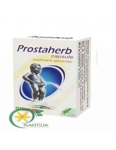 Prostaherb 30 cps Parapharm, Prostaherb 30 cps Parapharm Este un supliment alimentar destinat în exclusivitate bărbaților și asi