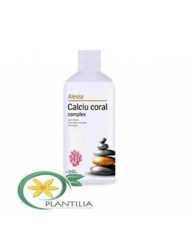 Calciu Coral Complex 946 ml Alevia, Calciu Coral Complex 946 ml Alevia Formula lichidă de Calciu coral complex oferă o alternati