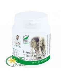 L-arginina & Tribulus Terrestris 150 cps Pro Natura