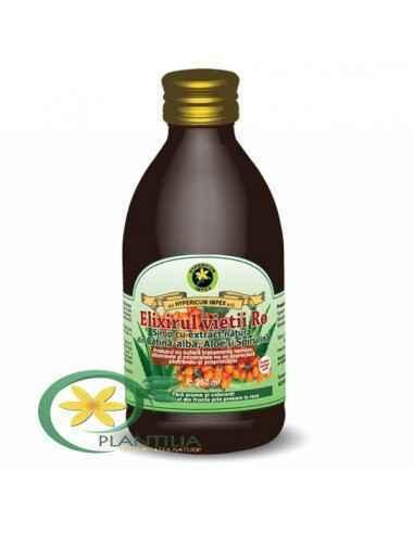 Elixirul Vietii Ro Sirop 250 ml Hypericum Produsul este un tonic general, vitaminizant și energizant.