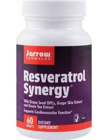 Resveratrol Synergy 60 tablete Jarrow Formulas