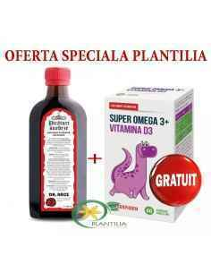 Picaturi suedeze Bitter Bano 250ml + Super Omega 3 si Vitamina D3 60 cps GRATIS Parafarm