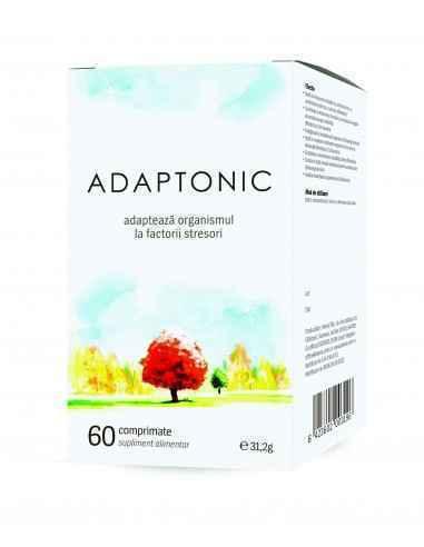 Adaptonic 60 comprimate Alevia, Adaptonic 60 comprimate Alevia Produs inovator pentru reducerea stresului și a efectelor sale ne