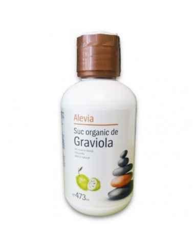 Suc organic de Graviola 473ml Alevia