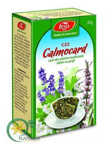 Ceai Medicinal Calmocard punga 50g Fares