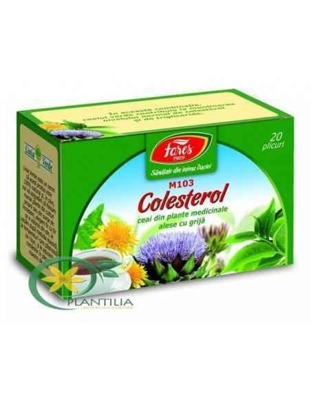 Ceai Colesterol 20 plicuri Fares