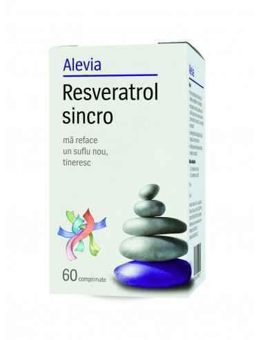 Resveratrol Sincro 60 cpr Alevia