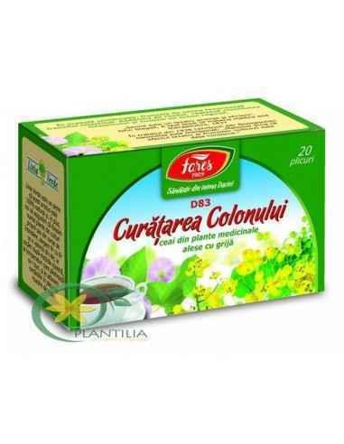 Ceai medicinal curatare colon plic Fares