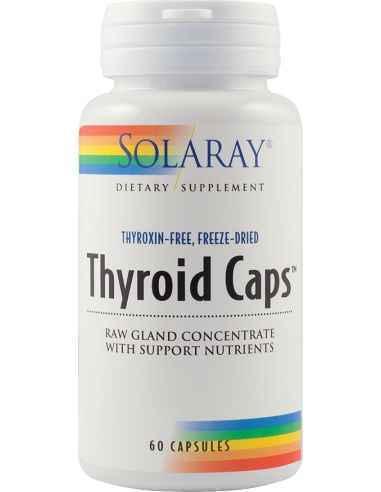 Thyroid Caps 60 cps Solaray