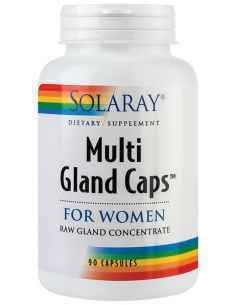 Multi Gland Caps For Women (pentru femei) 90 cps Solaray